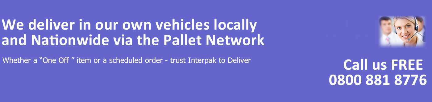 Interpak Local and Nationwide Delivery Service